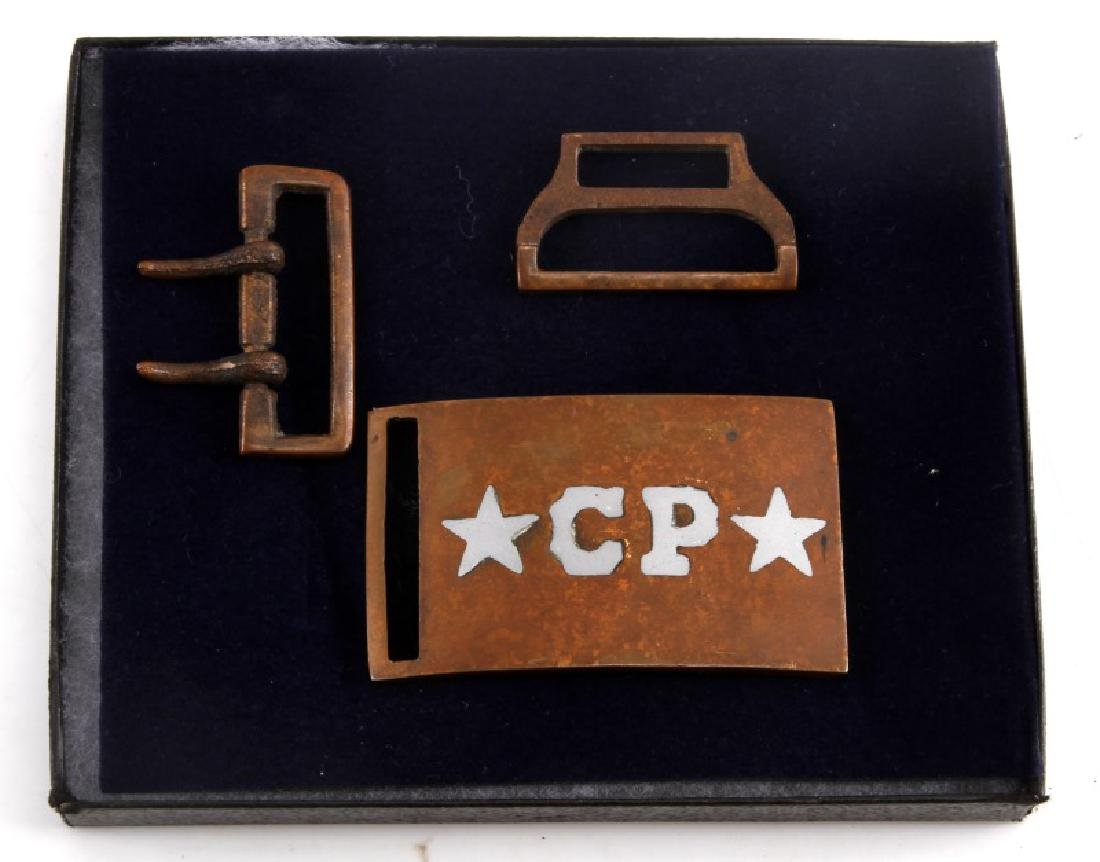 CIVIL WAR TENNESSEE CP STAMPED BELT BUCKLE