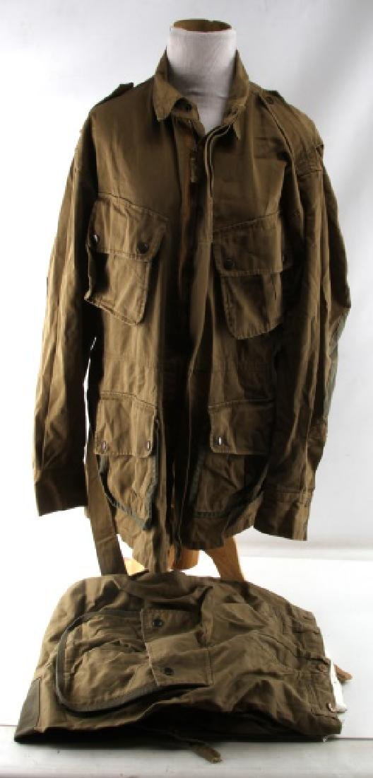 US WWII ARMY AIRBORNE M42 JUMP JACKET AND PANTS