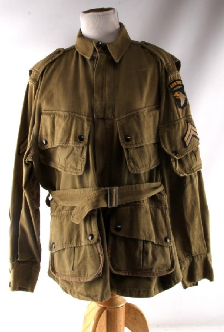 WWII 101ST AIRBORNE PARATROOPER M42 JUMP JACKET