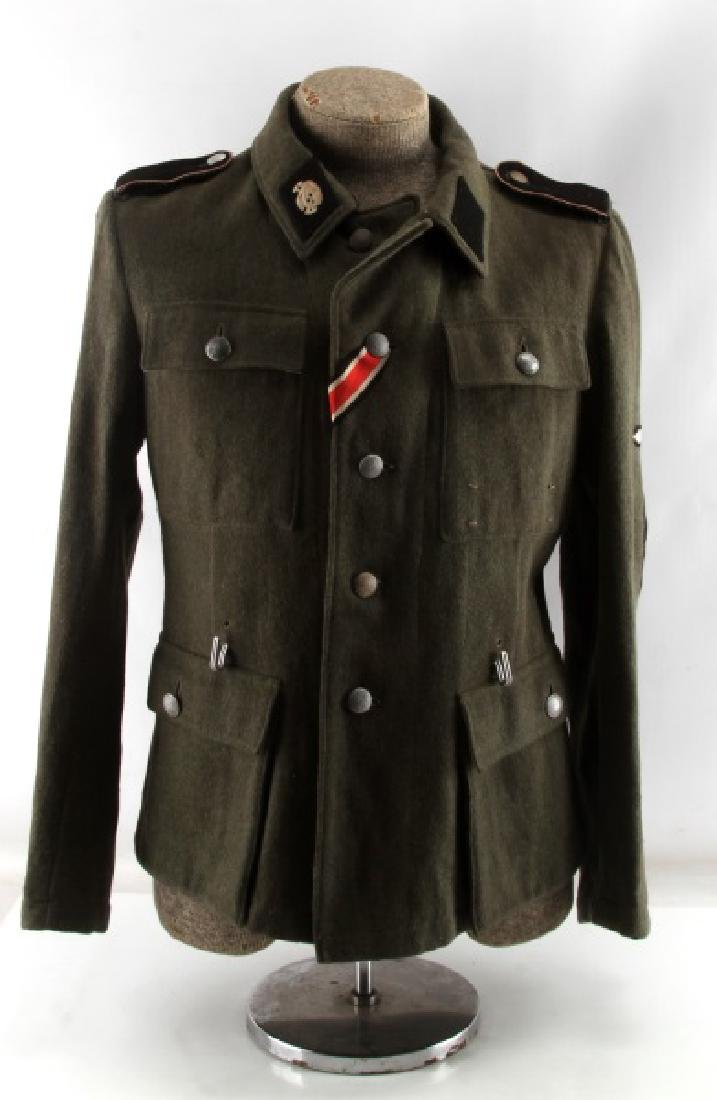 WWII GERMAN 3RD REICH WAFFEN SS ANTI TANK UNIFORM