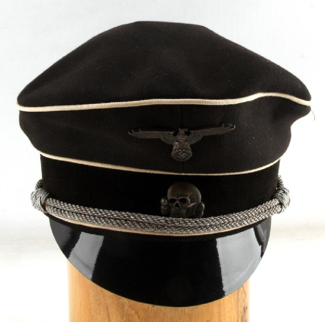 GERMAN WWII ALLGEMEINE SS NAMED VISOR