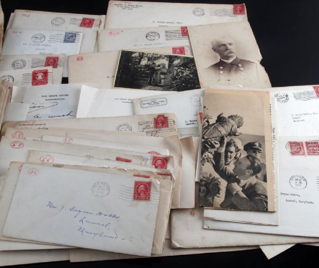WWI US & ALLIED HEROES AUTOGRAPH COLLECTION