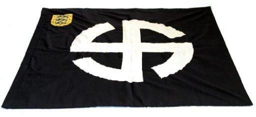 WWII GERMAN NSDAP WAFFEN SS DUTCH SCHALBURG FLAG