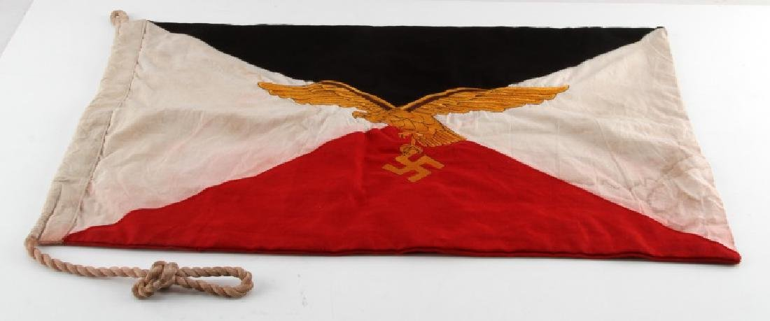 WWII GERMAN THIRD REICH LUFTWAFFE GENERAL'S FLAG