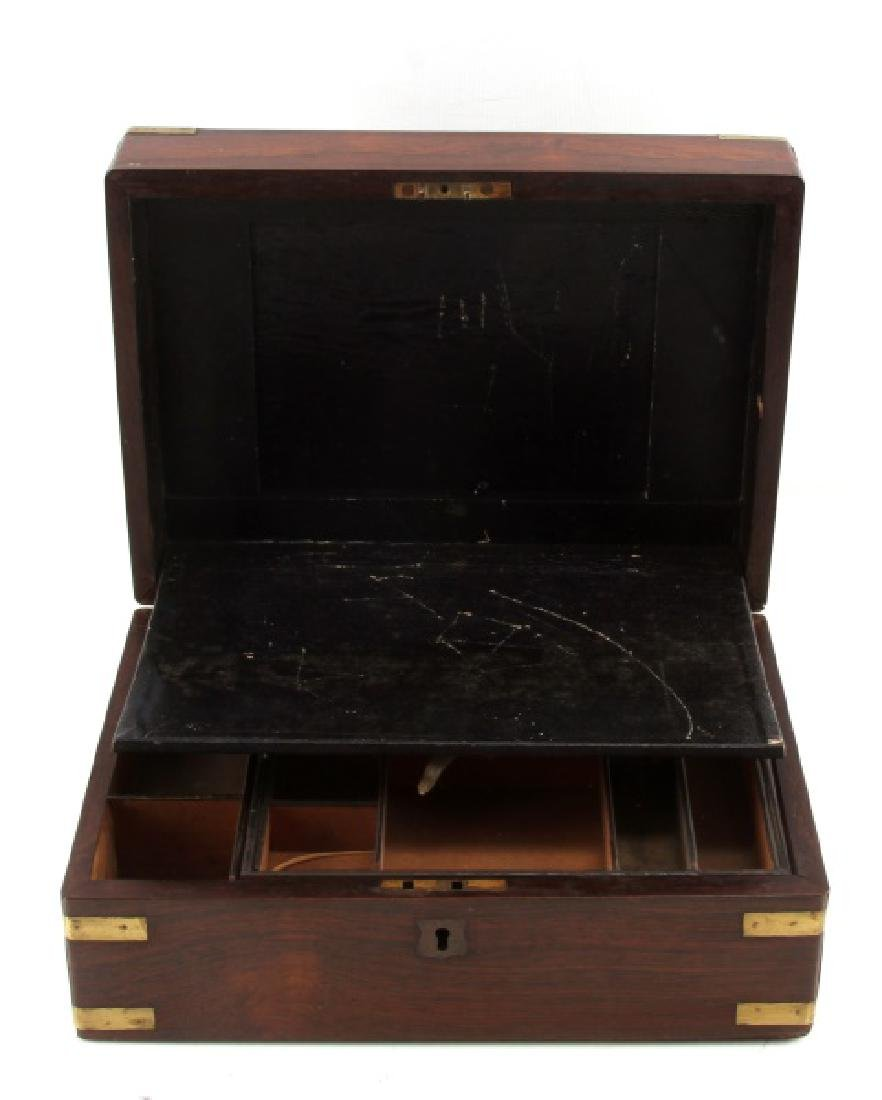 CIVIL WAR ERA  PISTOL & GEAR TRAVELING CASE BOX