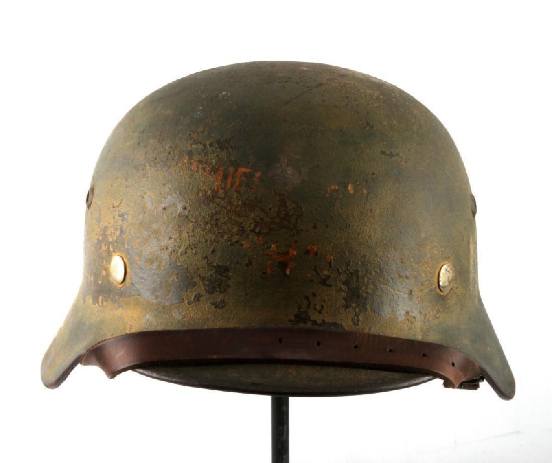 WWII GERMAN THIRD REICH HEER STAHLHELM HELMET
