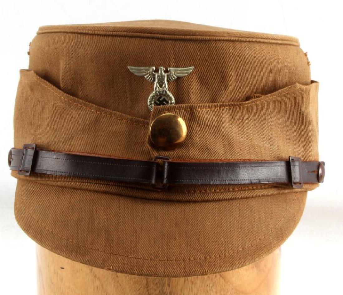 WWII GERMAN THIRD REICH SA KREISLEITER KEPI CAP