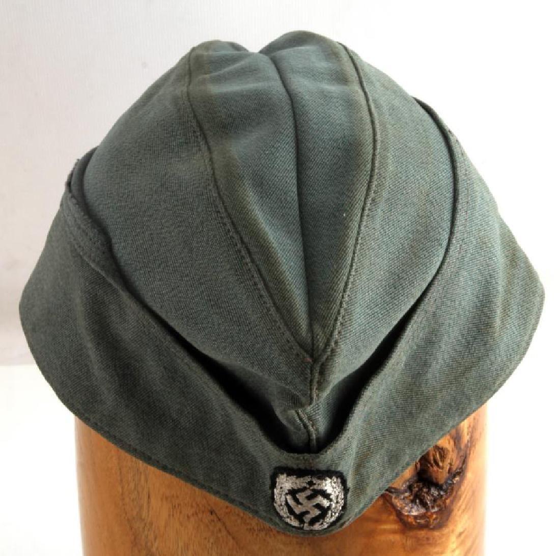 GERMAN WWII SS SCHUTZMANNSCHAFT OVERSEAS CAP