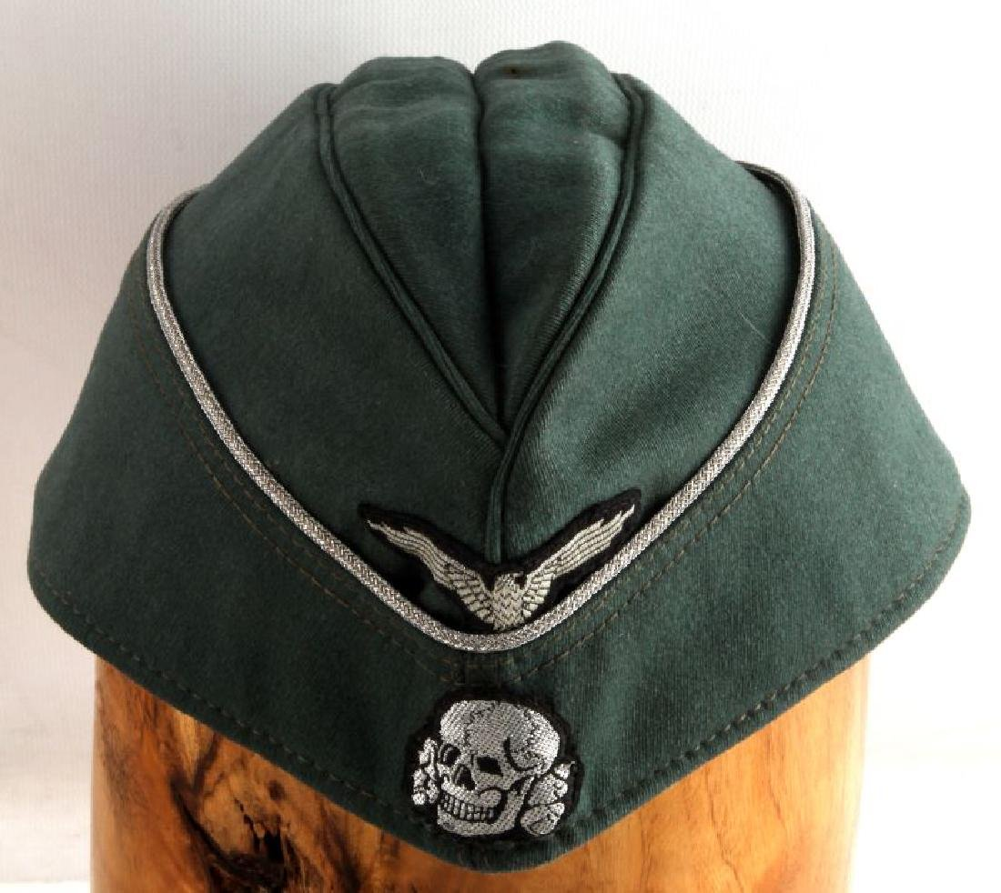 GERMAN WWII WAFFEN SS OVERSEAS OFFICERS CAP