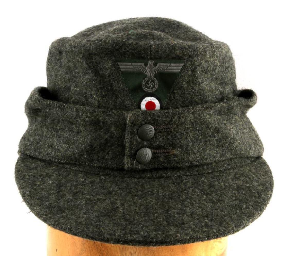 WWII GERMAN THIRD REICH WEHRMACHT M43 FIELD CAP