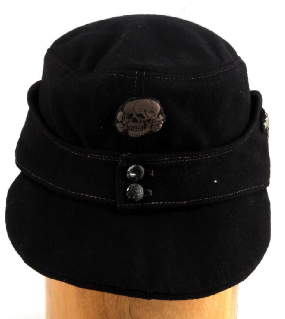 WWII GERMAN THIRD REICH WAFFEN SS M43 FIELD CAP