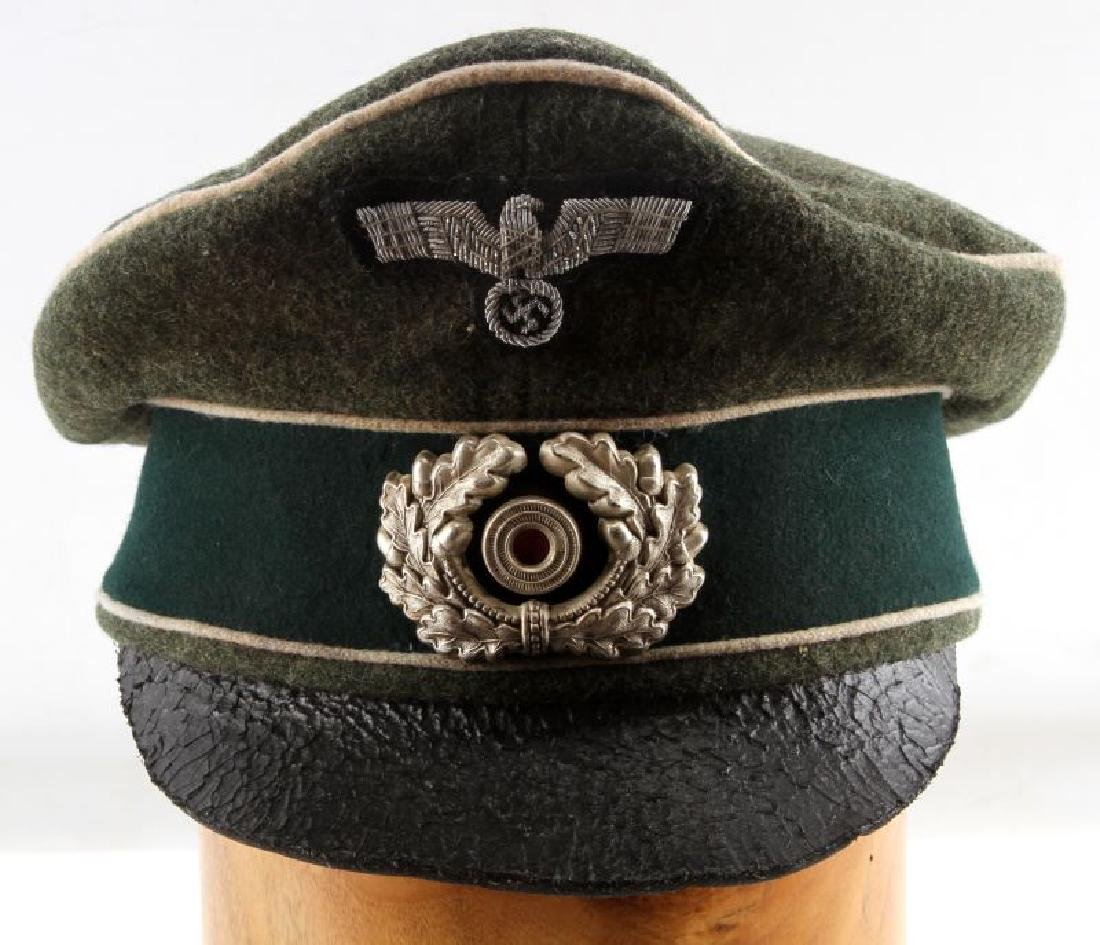 GERMAN WWII THIRD REICH HEER OFFICER'S VISOR