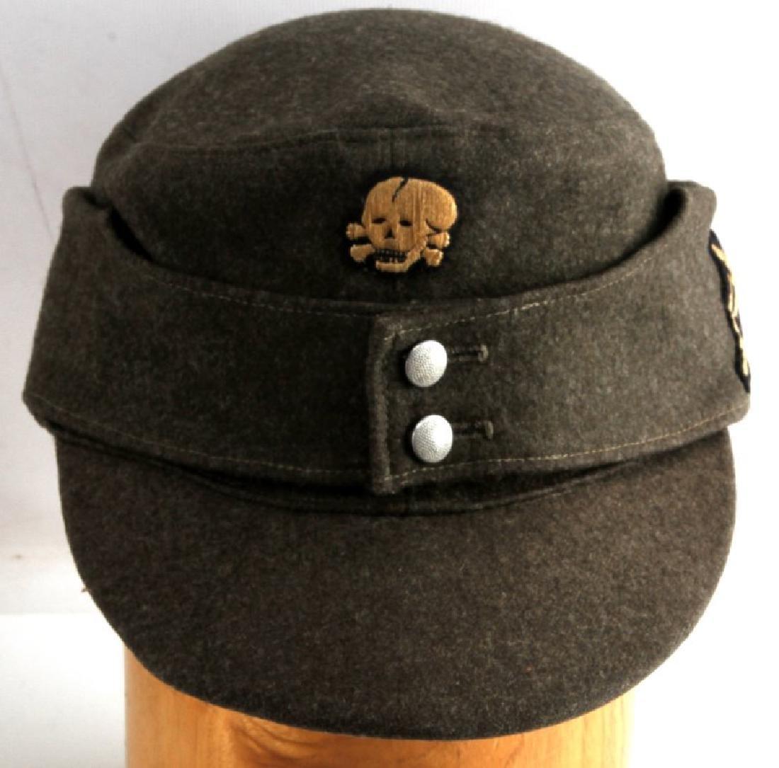 GERMAN WWII SS GEBIRGSJAGER MOUNTAIN TROOP M43 CAP