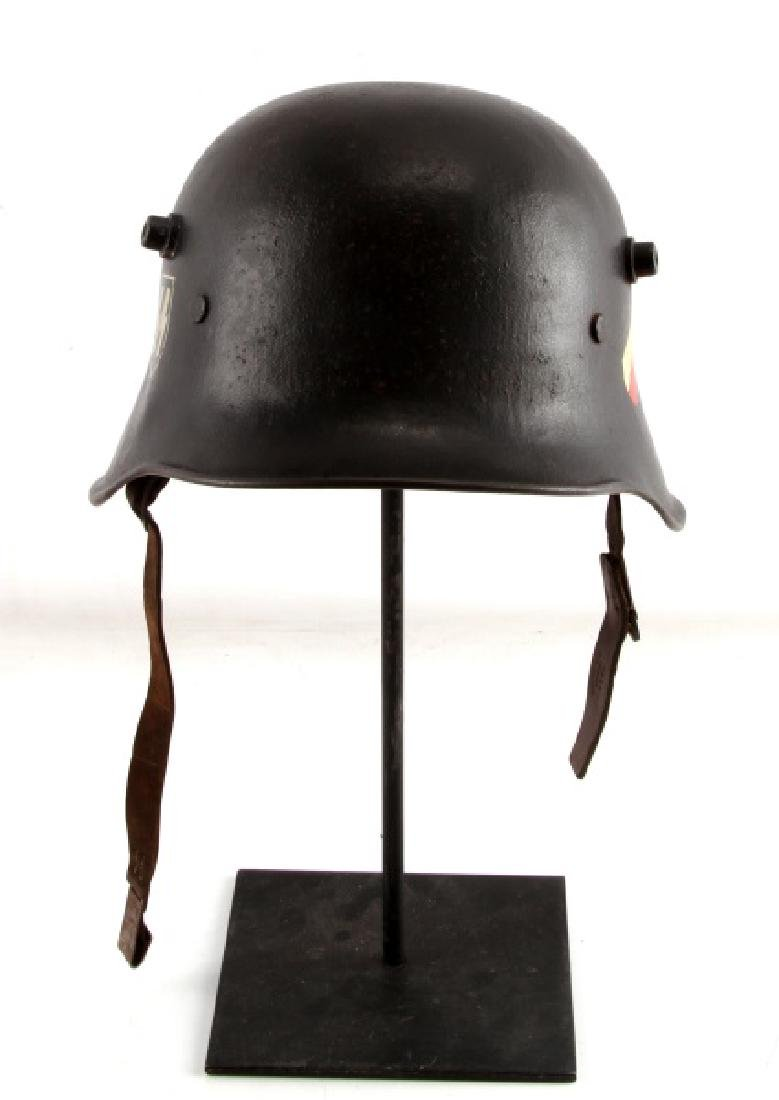 WWII GERMAN SS M1918 TRANSITIONAL HELMET