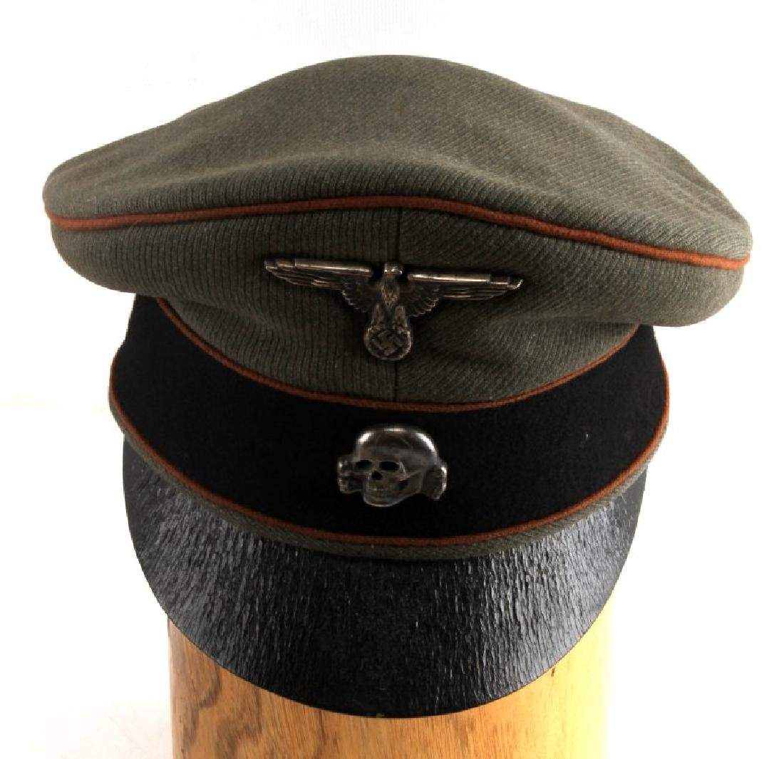 GERMAN WWII WAFFEN SS CONCENTRATION CAMP VISOR