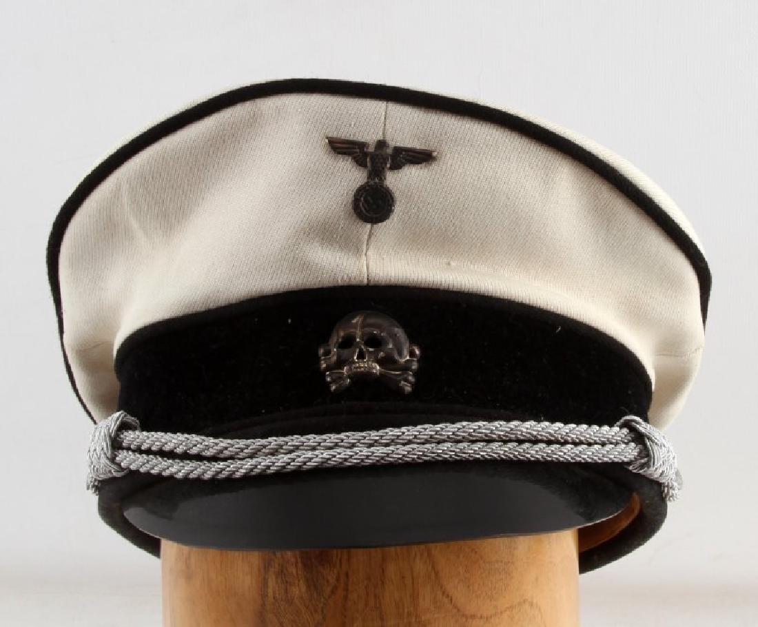 WWII GERMAN THIRD REICH ALLGEMEINE SS SUMMER CAP