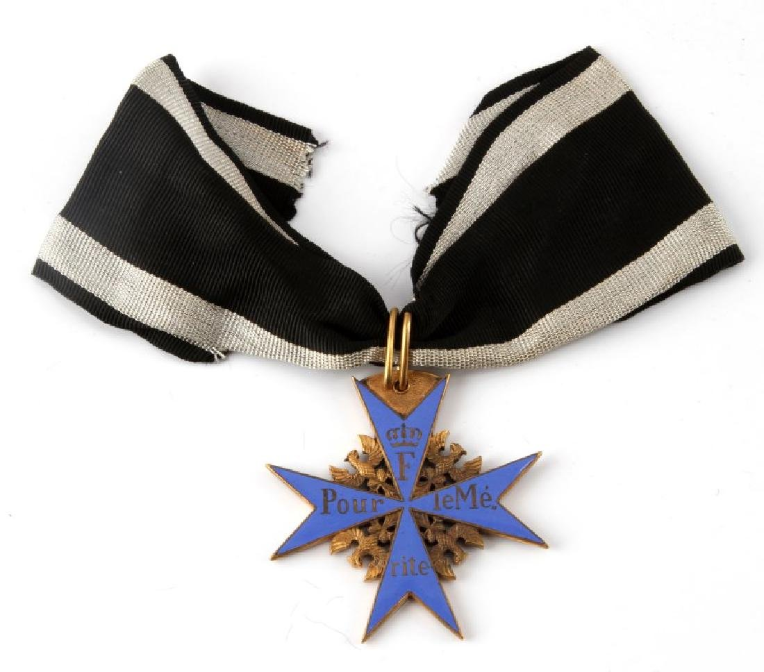 IMPERIAL GERMAN WWI POUR LE MERIT ORDER DECORATION