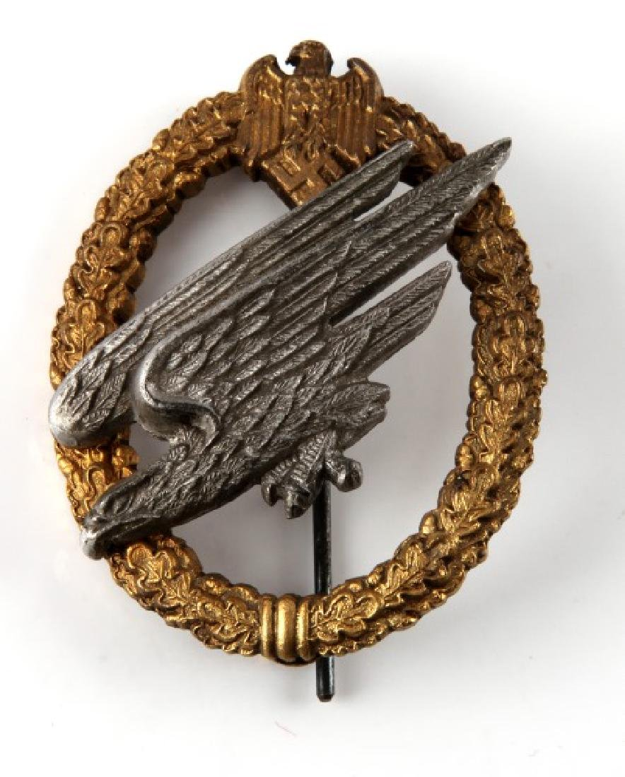 WWII GERMAN PARATROOPER FALLSCHIRMJAGER BADGE