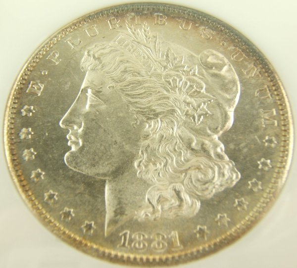 1881-S MORGAN SILVER DOLLAR MS-64 PL NGC CERTIFIED