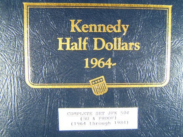COMPLETE KENNEDY HALF DOLLAR SET BU & PROOF