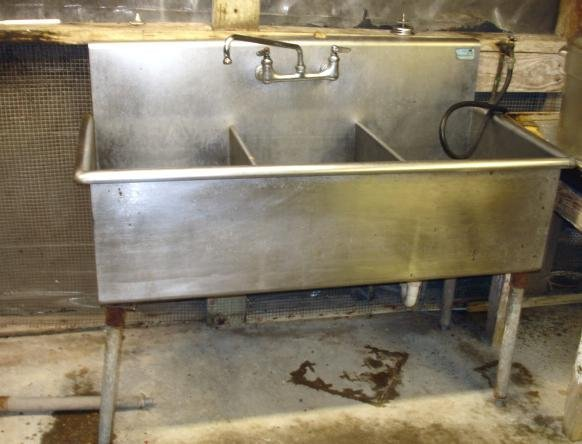 3 COMPARTMENT STAINLESS SINK RESTAURANT COMMERCIAL