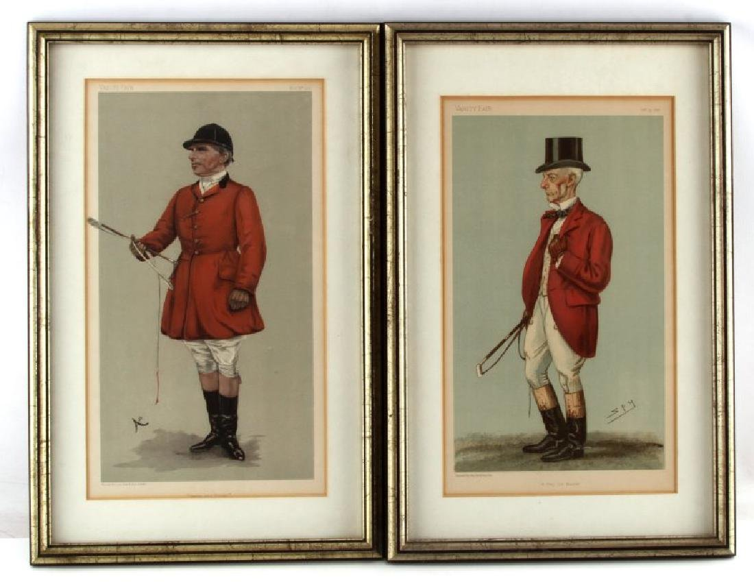 SPY & L'STRANGE VANITY FAIR BRITISH LITHOGRAPHS