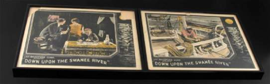 HAND COLORED 1925 SILENT FILM MOVIE ADVERTISEMENT
