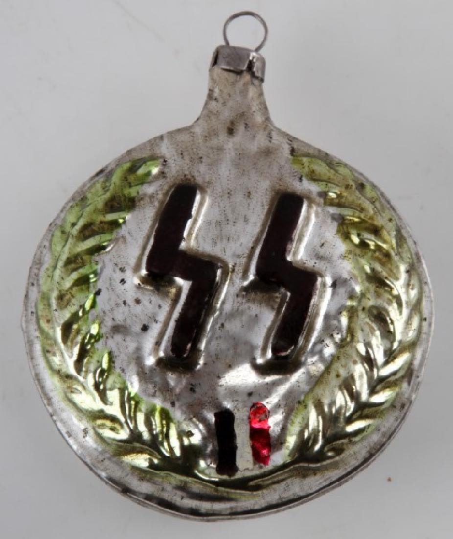 WWII GERMAN THIRD REICH SS RUNE CHRISTMAS ORNAMENT
