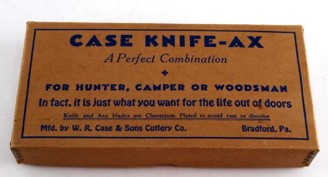 VINTAGE CASE KNIFE AX COMBINATION TOOL SET - 8
