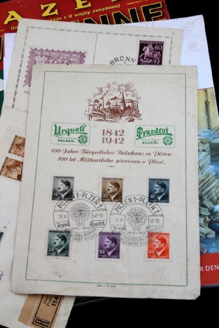 LOT OF 8 WWII GERMAN NSDAP PHOTO BOOK & POSTCARDS - 2
