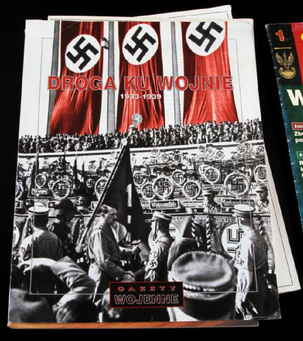 LOT OF 8 WWII GERMAN NSDAP PHOTO BOOK & POSTCARDS - 6
