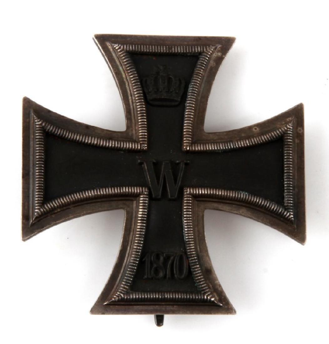 IMPERIAL GERMAN WWI 1870 IRON CROSS 1ST CLASS