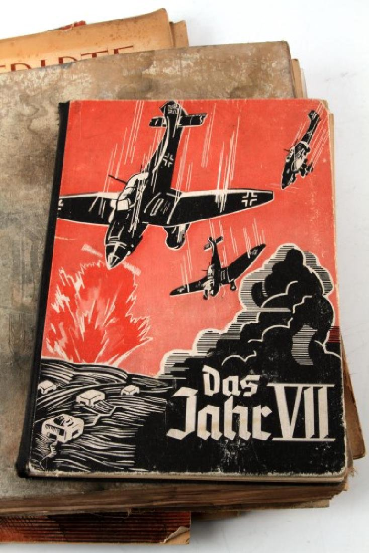 LOT OF 10 WWII NSDAP THIRD REICH EPHEMERA & BOOKS - 3