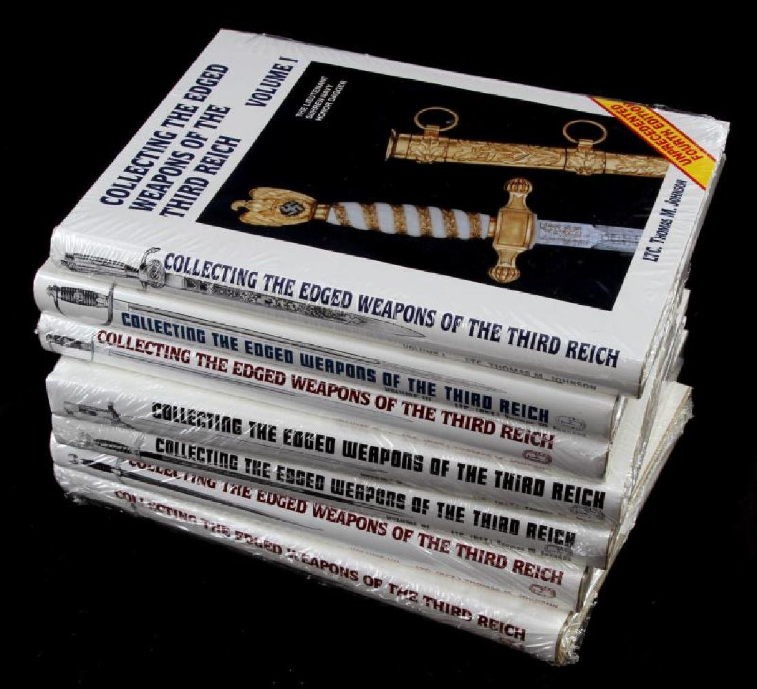 WWII THIRD REICH EDGED WEAPONS COLLECTING BOOK SET