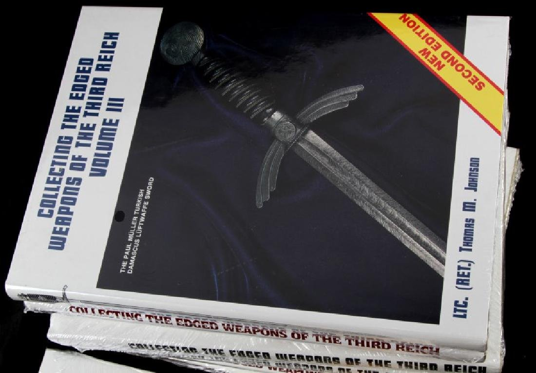 WWII THIRD REICH EDGED WEAPONS COLLECTING BOOK SET - 3