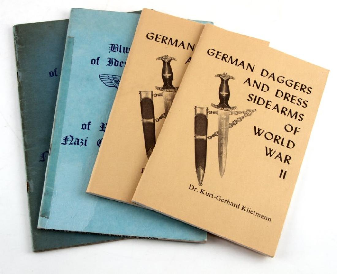 WWII GERMAN DAGGER WEAPON IDENTIFICATION BOOKS