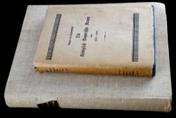 PAIR OF IMPERIAL GERMAN MILITARY RECORD BOOKS