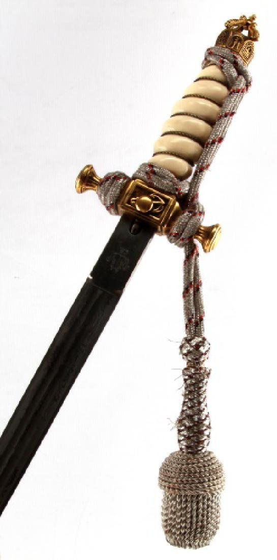 WWI GERMAN IMPERIAL NAVY DAGGER AND PORTEPEE