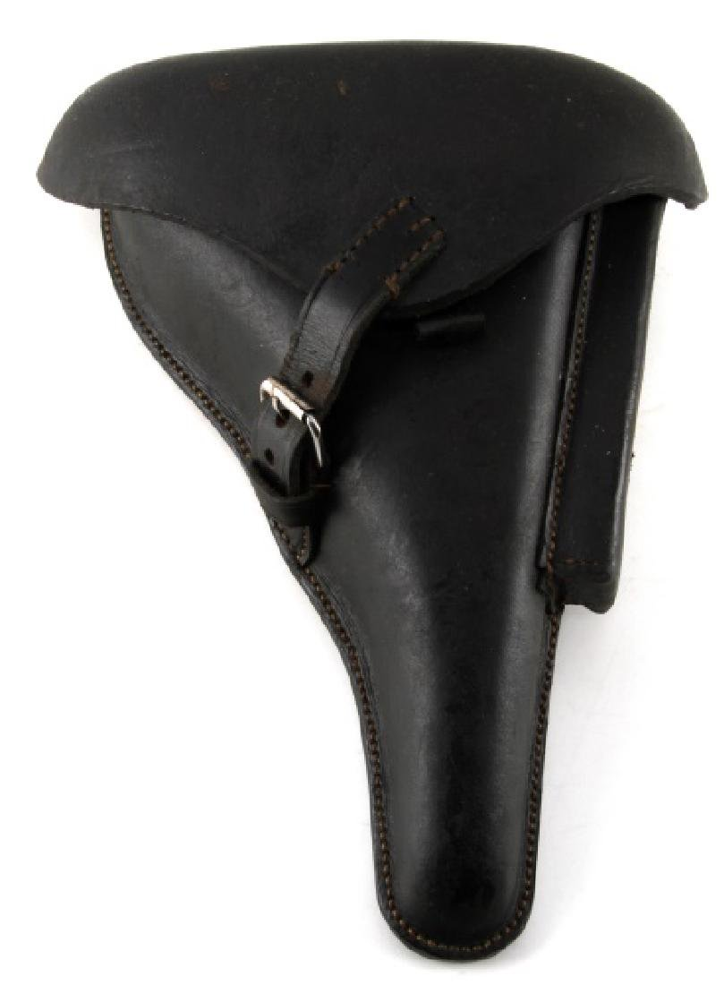 WWII GERMAN THIRD REICH LEATHER LUGER HOLSTER