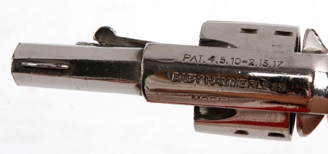 SEDGLEY BABY HAMMERLESS 1920'S REVOLVER .22 PEARL - 3