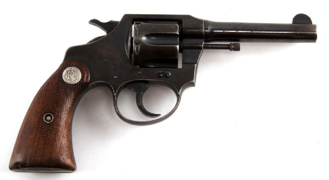 COLT POLICE POSITIVE 6 SHOT REVOLVER IN .38 CAL