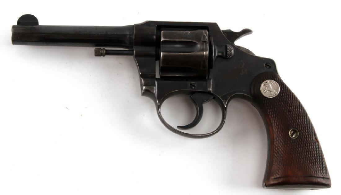 COLT POLICE POSITIVE 6 SHOT REVOLVER IN .38 CAL - 2