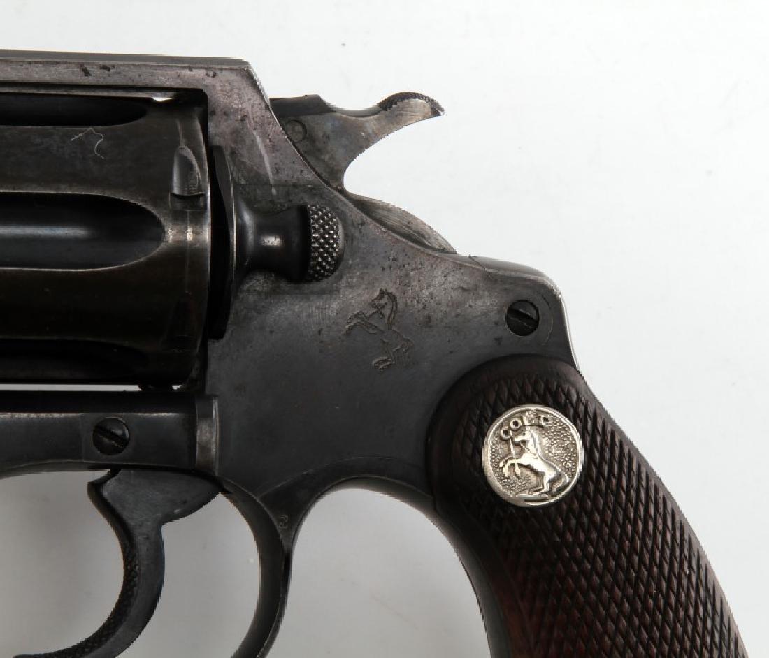 COLT POLICE POSITIVE 6 SHOT REVOLVER IN .38 CAL - 3