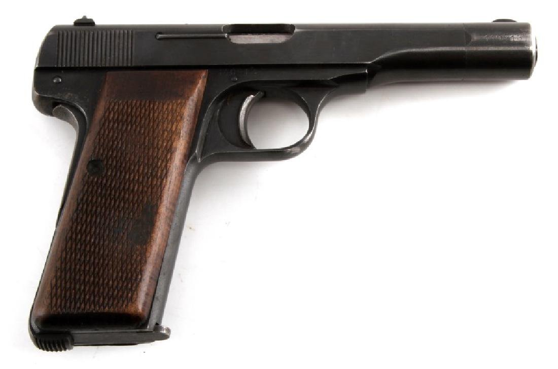 FN BROWNING M1922 SEMI AUTO PISTOL 7.65 MM HOLSTER
