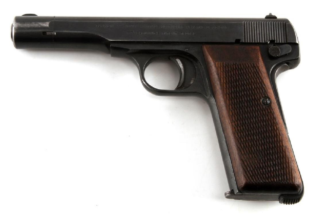 FN BROWNING M1922 SEMI AUTO PISTOL 7.65 MM HOLSTER - 5