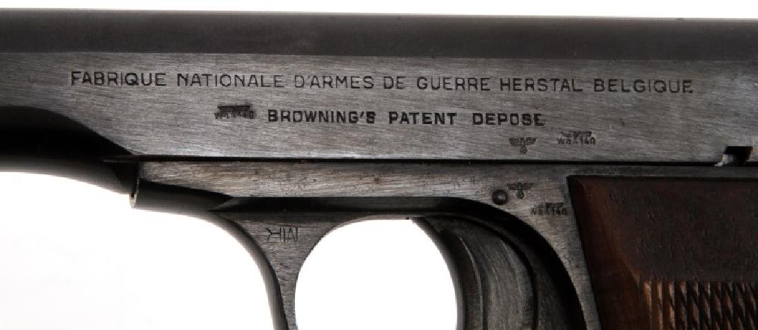 FN BROWNING M1922 SEMI AUTO PISTOL 7.65 MM HOLSTER - 6
