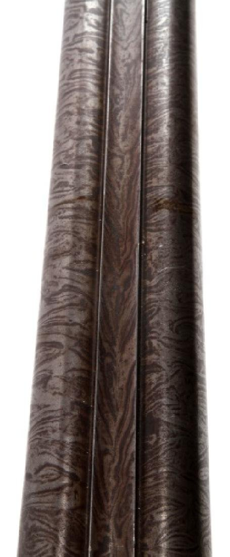 LAMINATED STEEL DBL BARREL SXS 12 GA SHOTGUN - 5
