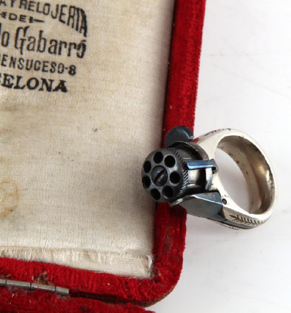 19TH CENTURY SELF DEFENSE LA FEMME FATALE RING GUN - 4