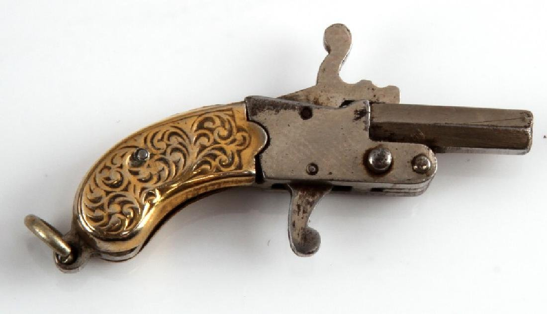 2MM PIN GUN WITH SKULL PIN AND VIAL LOT - 3