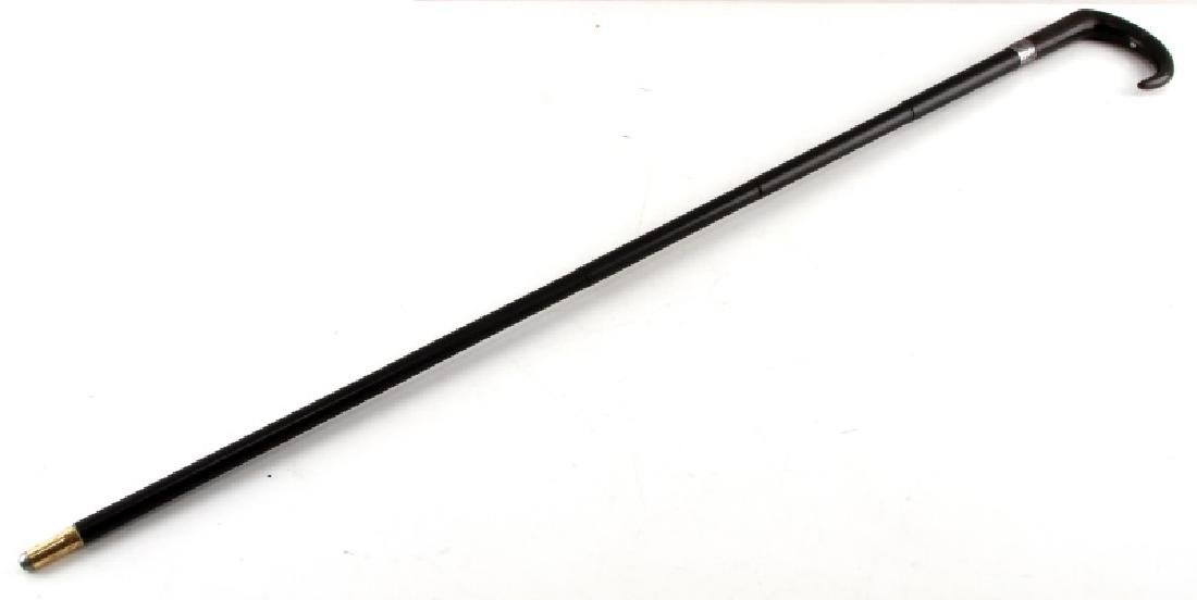 VICTORIAN GENTLEMAN 410 BREACH LOADING GUN CANE - 2